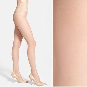 Commando Sexy Sheer Panty Hose Medium Nude NWT